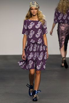 House of Holland Spring 2013 Ready-to-Wear Fashion Show - Anastasija Titko