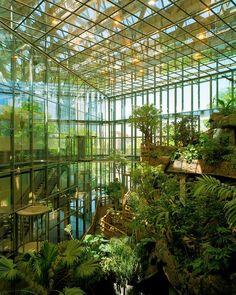 Universeum Science Center and Aquarium in Göteborg, Sweden