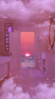 Pink Tumblr Aesthetic, Iphone Wallpaper Tumblr Aesthetic, Pink Wallpaper Iphone, Aesthetic Pastel Wallpaper, Sky Aesthetic, Aesthetic Movies, Aesthetic Collage, Purple Aesthetic, Aesthetic Backgrounds