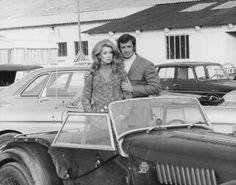 Jean-Paul Belmondo and Catherine Deneuve