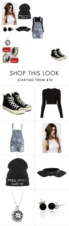 """""""Untitled #419"""" by oreo-demon ❤ liked on Polyvore featuring Converse, Proenza Schouler, VILA, With Love From CA, CO, Yves Saint Laurent and Bling Jewelry"""