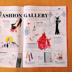 Excited to be featured in this months shop til you drop mag alongside my @theillustrationroom buddies @kerriehessillustration and @Angie Réhe...