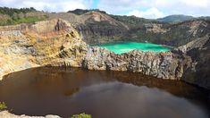 ❝ Los 3 Preciosos Lagos tricolores en el monte Kelimutu [VÍDEO] ❞ ↪ Puedes verlo en: www.proZesa.com