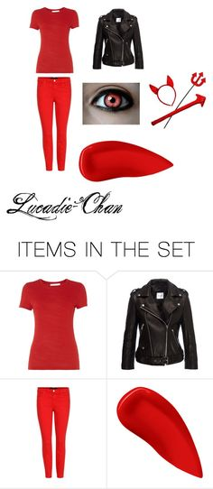Devil costume. by lucadie-chan on Polyvore featuring art