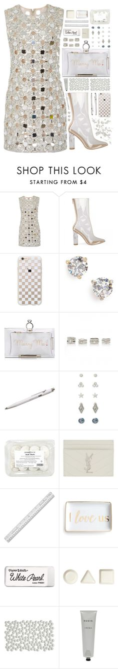 """""""""""It's All Clear Now"""" - Contest"""" by arierrefatir ❤ liked on Polyvore featuring KaufmanFranco, Rifle Paper Co, Kate Spade, Charlotte Olympia, Forever New, Monocle, Forever 21, Yves Saint Laurent, Paper Mate and iittala"""