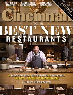 Cincinnati Magazine   March 2014   Best New Restaurants