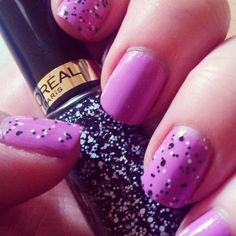 L'Oréal Confetti Topper. Very pretty.