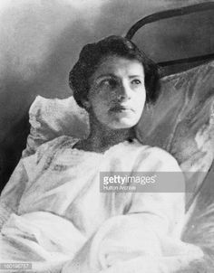 Anna Anderson , a woman purporting to be Grand Duchess Anastasia, the youngest daughter of Tsar Nicholas, convalesces at the Mommsen-Sanatorium in Berlin, 1926. When first institutionalized, she...