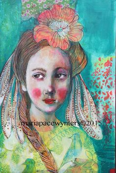 The Daily Muse: Maria Pace-Wynters, Mixed Media Artist - #elusivemuse - http://elusivemu.se/maria-pace-wynters/  ©2015, All Rights Reserved, Maria Pace-Wynters