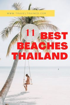When you start planning a trip to Thailand, one of the biggest considerations and questions is regarding the best beaches in Thailand.With so many islands and coastal areas to choose from, it's no surprise that the choices can be overwhelming. #thailand #beach #island #beachvibe #beachlife #southeastasia
