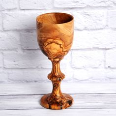 Handmade Olive Wood Goblet Cup (Tunisia) (Wooden Goblet), Brown, Size x 3 Lathe Projects, Wood Projects, Woodworking Projects, Whittling Projects, Woodworking Lathe, Carpentry, Wood Turning Lathe, Wood Turning Projects, Wood Lathe For Sale