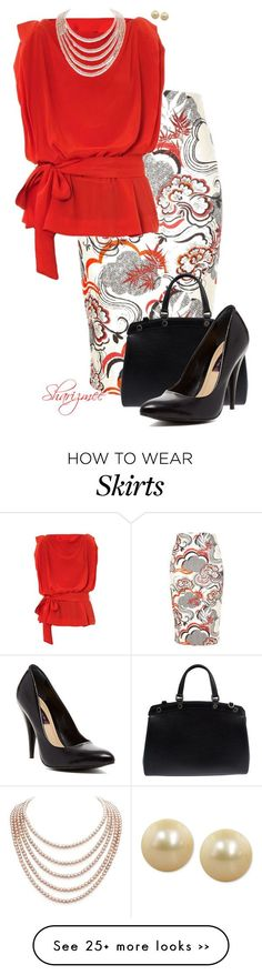 """The Secretarial Pool"" by sharizmee on Polyvore"