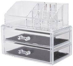 Compactor caja organizadora - 2 cajones joyero y cosméticos, transparente de COMPACTOR, http://www.amazon.es/dp/B0057CAKFQ/ref=cm_sw_r_pi_dp_VEmbtb0J1KABZ