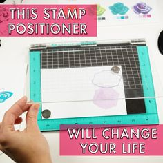 Found it at Blitsy - This Stamp Positioner Will Change Your Life