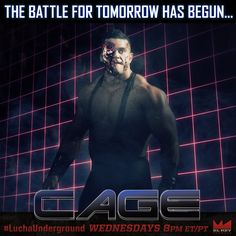 Cage Lucha Underground, Cage, Batman, Wrestling, Superhero, Story Ideas, Movie Posters, Movies, Fictional Characters