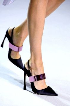 Dior Heels , Fashion show details