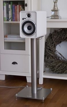 Lautsprecherständer QUATTRO Audio Stand, Acoustic Design, Speaker Stands, Speaker Design, High End Audio, Home Studio, Loudspeaker, Audiophile, Speakers