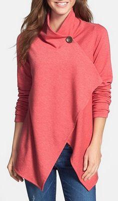 Love this asymmetrical fleece cardigan http://rstyle.me/n/tpg4vnyg6