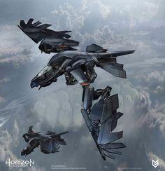 Horizon Zero Dawn Concept Art - Stormbird