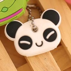 NWT panda key cover key cap New key cap. Panda. See my other listing for the stitch key cap Accessories Key & Card Holders