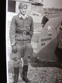 Oberstleutnant Hans PHILIPP (17 Mar 1917 – 8 Oct 1943) fighter ace credited with 206 enemy aircraft shot down in over 500 combat missions. Killed in action a week later on 8 October during an attack on Bremen. Believed shot down by the P-47 Thunderbolt. Knight's Cross on 22 October 1940 Oberleutnant and Staffelkapitän of the 4./JG 54; 33rd Oak Leaves on 24 August 1941 as Oberleutnant and Staffelkapitän of the 4./JG 54; 8th Swords on 12 March 1942 Hauptmann and Gruppenkommandeur of the I./JG…