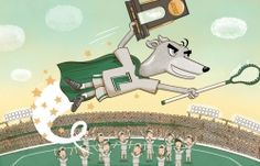 How Loyola's lacrosse team surprised everyone by winning the national championship. Originally published in the March 2013 issue. Illustration by Andy Ward.