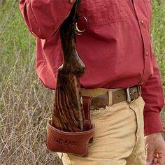 Leather Shotgun Holster - or rifle!