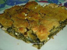 Cookie Dough Pie, Greek Pastries, Filo Pastry, Greek Cooking, Greek Recipes, Quiche, Food And Drink, Gluten, Vegetables