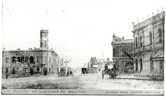 The Junction Mt. Alexander Road, Moonee Ponds c. 1905 by mvlslibrary, via Flickr