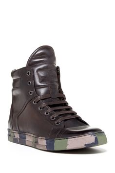 Kenneth Cole Double Header High Top Sneaker from HauteLook on Catalog Spree