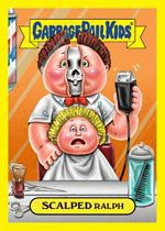 garbage pail kids. true story I bought a pack the first time adam and I went out lol
