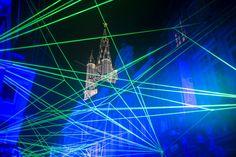 Gent: una città dove le luci non si spengono mai. Light Festival 2015 ©Christophe Vander Eecken