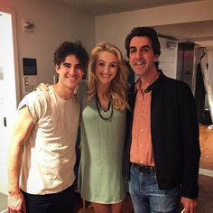 thenewyorkpops: Jason Robert Brown with @bwolfepack and @darrencriss backstage @carnegiehall this afternoon. What a concert!!! #nypops #broadwaytoday #Broadway #musicaltheatre #showtunes #jasonrobertbrown