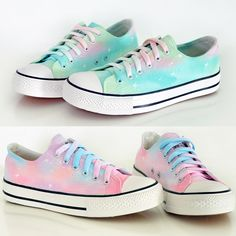 Cute harajuku galaxy shoes