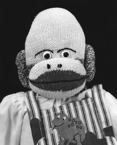 My 2nd sock monkey, Carl, MUST be related to this guy.