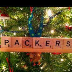 Scrabble ornament - DIY craft