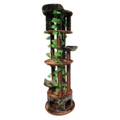 Kitty Mansions Tasmania Cat Tree | Overstock.com Shopping - The Best Deals on Cat Furniture