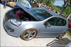 satin grey VW Golf mk5 GTI at the Woerthersee Tour GTI-Tre… | Flickr