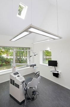 stylish dental clinic in the Netherlands