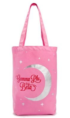 - canvas material - 14 x x - 10 strap drop - gusset - ships within business days Greek Girl, Sorority Names, Gamma Phi Beta, Girls Shopping, Purses And Handbags, 5 D, Reusable Tote Bags, Gifts, Stuff To Buy