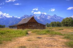 Teton Cabin HDR by Adam Trulen, via Flickr