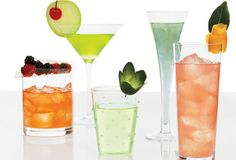 Celebrate any occasion in style with these simple, pretty drink garnishes.