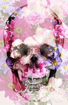 Skull 2.0 Art Print by Rheeka