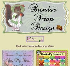 Ad:Fabulous By My Store Deal, PSP Styles, FS & TS Scrapkits from Brenda's Scrap Design! http://mad.ly/e46ce3