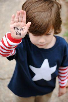 Veterans Day Simple Star Patriotic kids t-shirt.