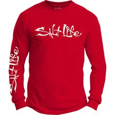 Salt Life - Salt Life Signature Logo Long Sleeve Tee Shirt