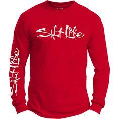 Salt Life - Salt Life Signature Logo Long Sleeve Tee Shirt