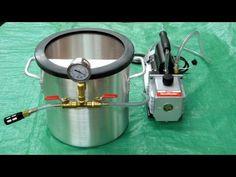 Vacuum Chamber and Pump - Vacuum Infusion
