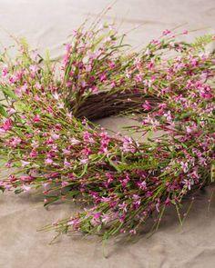 Pink Forsythia Wreat