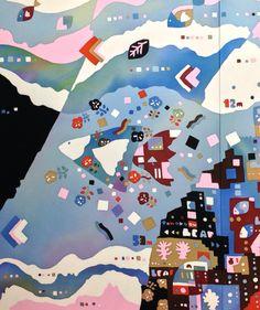 明日31日より12月7日まで六本木・国立新美術館にて開催の日展に出品します。工芸美術の会場での展示です。ご都合宜しければ是非ご高覧下さいませ。写真は出品作「心の旅」の一部です。http://www.nitten.or.jp